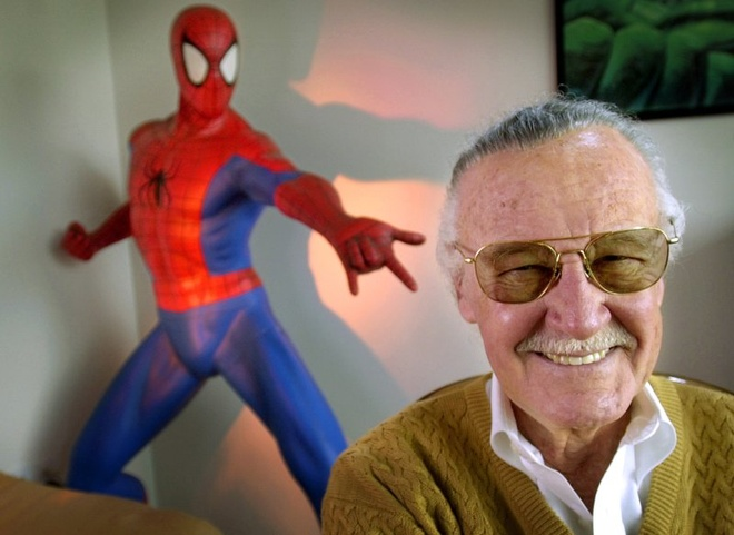 Cha de cua Marvel, ong vua truyen tranh Stan Lee qua doi hinh anh
