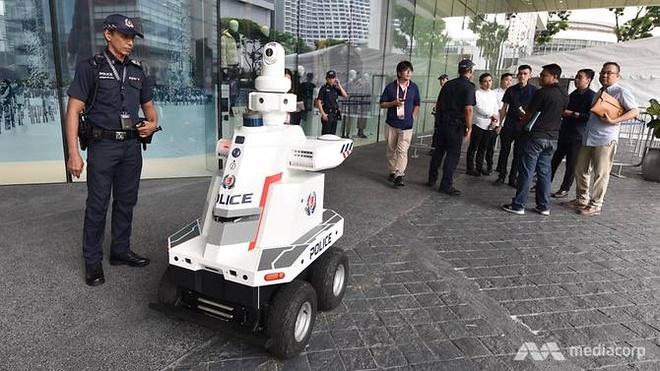 Singapore su dung robot tuan tra cho hoi nghi cap cao ASEAN hinh anh 1