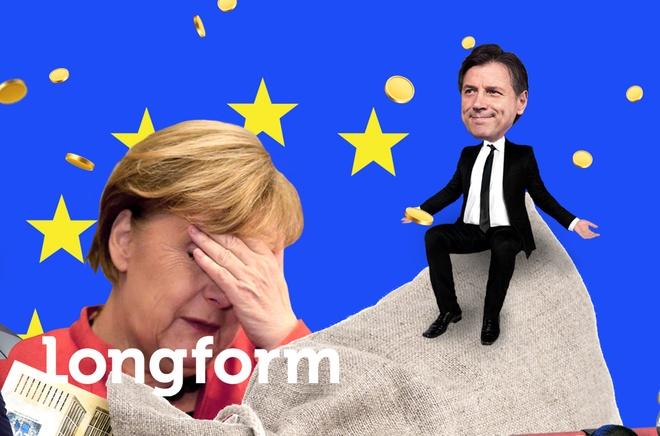 Qua bom no Italy va tuong lai EU hau Brexit hinh anh