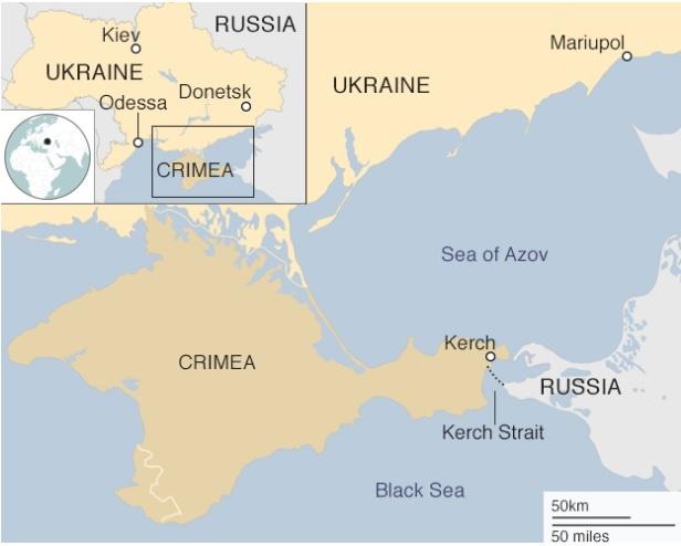 Nga no sung, bat giu 3 tau hai quan Ukraine o gan Crimea hinh anh 2