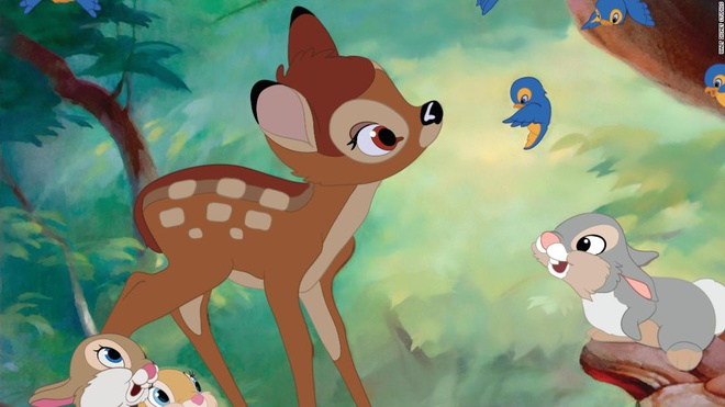 San trom huou, bi o tu va phai xem hoat hinh Bambi moi thang hinh anh