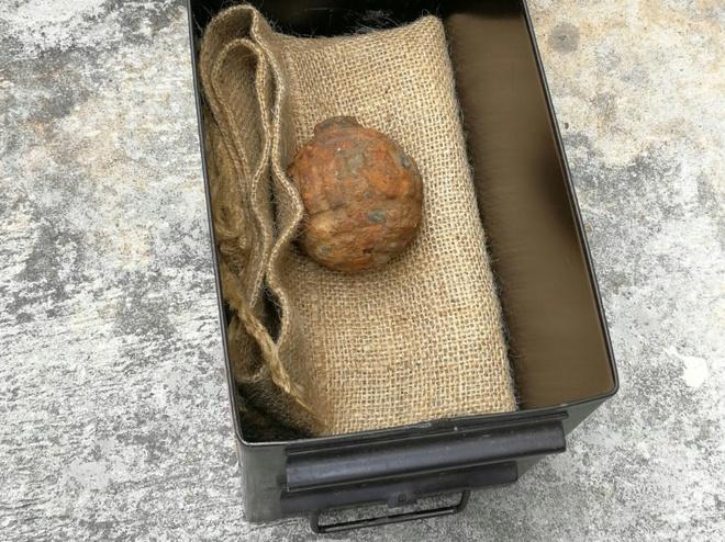 Chuyện lạ: Tìm thấy lựu đạn Thế chiến I trong khoai tây để sản xuất snack