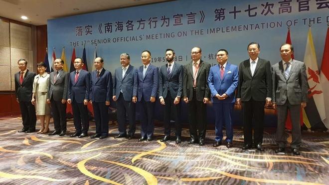 Hoi nghi Quan chuc cao cap ASEAN-Trung Quoc anh 1