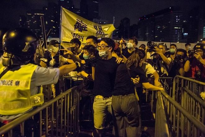 Hong Kong bieu tinh anh 1
