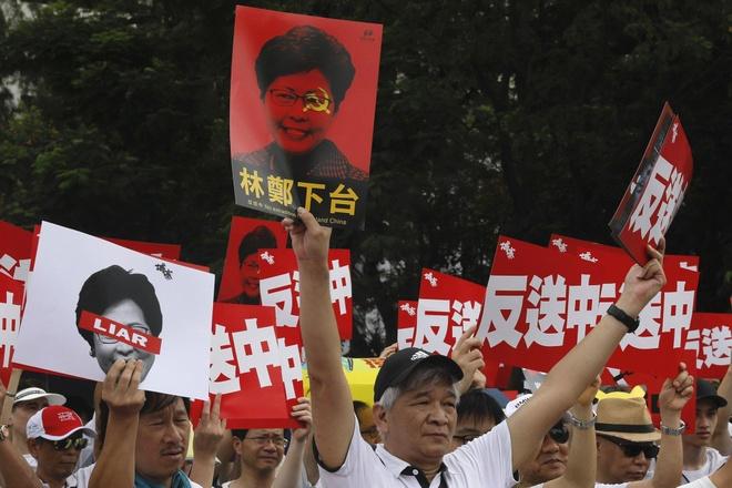 Bao TQ len an 'the luc phuong Tay' dung sau bieu tinh Hong Kong hinh anh 2
