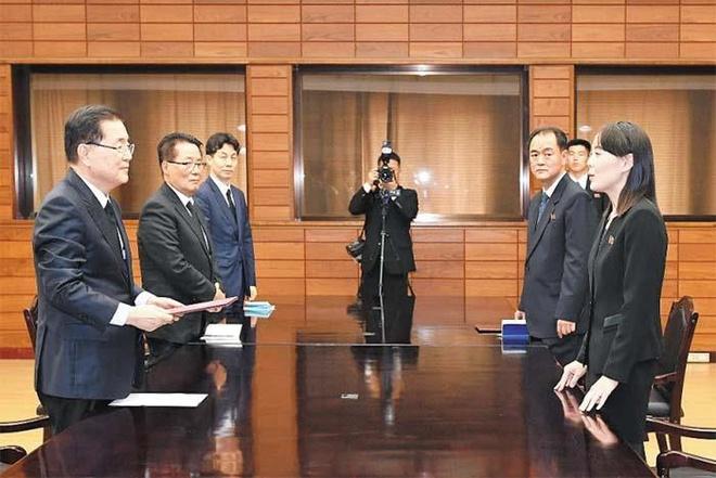 Dong thai la cua Han Quoc voi doan clip co em gai Kim Jong Un hinh anh 1
