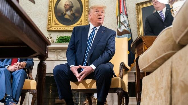 Trump bao luu quyet dinh tan cong Iran anh 1