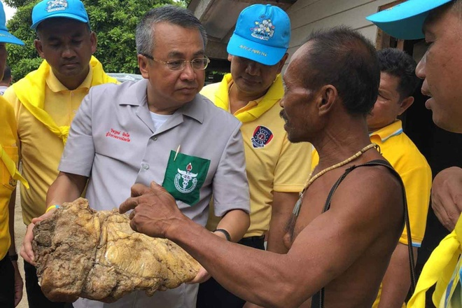 Ngu dan Thai Lan tim thay vat the la, nghi Long Dien Huong hinh anh 1