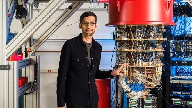 Google khoe máy tính lượng tử giải phép tính 10.000 năm trong 200 giây