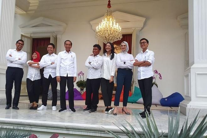 Tong thong Indonesia tre hoa doi ngu co van anh 1