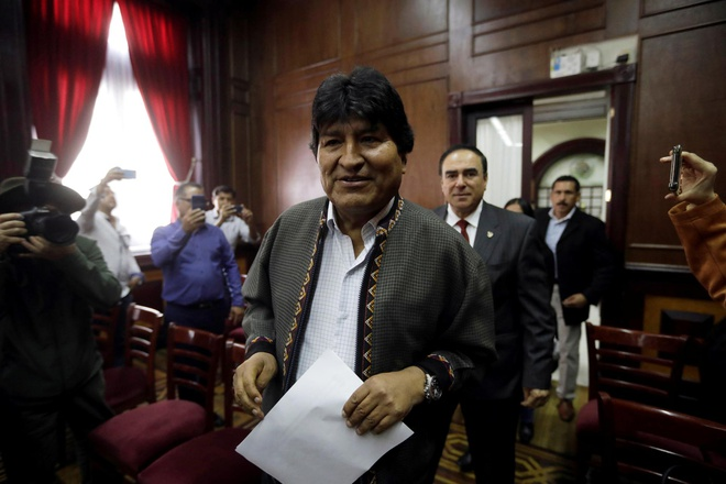 Chinh phu moi cua Bolivia ra lenh bat cuu tong thong Evo Morales hinh anh 1 download_(1).jpeg
