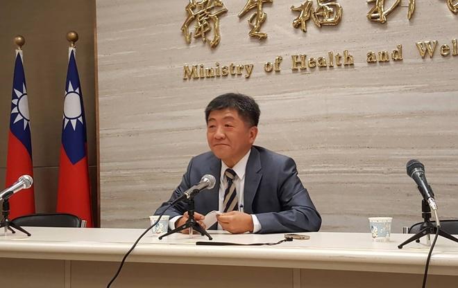 Bộ trưởng Y tế Đài Loan Chen Shih Chung. Ảnh: CNA.