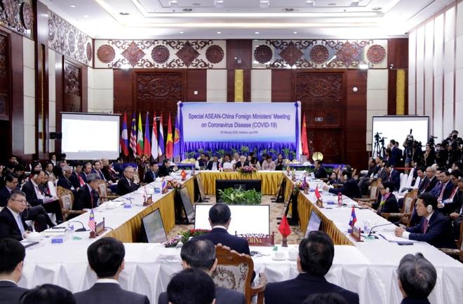 ASEAN-Trung Quoc hop tac ung pho dich benh Covid-19 hinh anh 1 ASEAN_TQ_COVID_19_4_.jpg