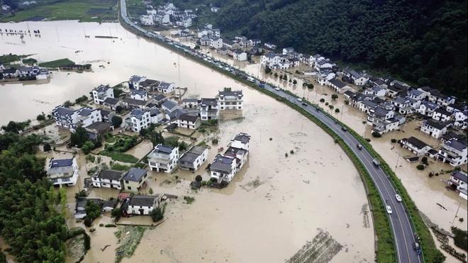Lũ Lụt Trung Quốc Trung Quốc Cảnh Bao Lũ Mạnh Từ đập Tam Hiệp Thế Giới