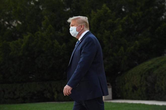 Ong Trump khong tin rang minh lay nhiem anh 1