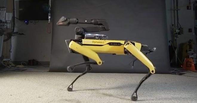 Robot cua My co the nhay nhu vu cong hinh anh