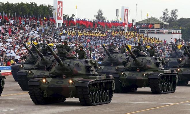 Quan chức Lầu Năm Góc kêu gọi Đài Loan tăng ngân sách phòng vệ