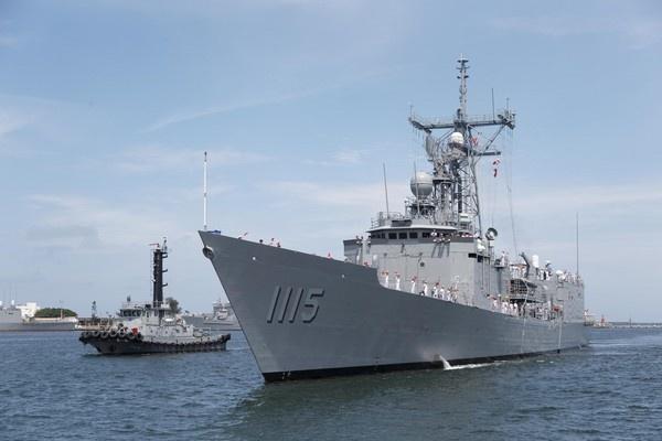 Đài Loan tiếp nhận 2 chiến hạm chống ngầm do Mỹ chế tạo