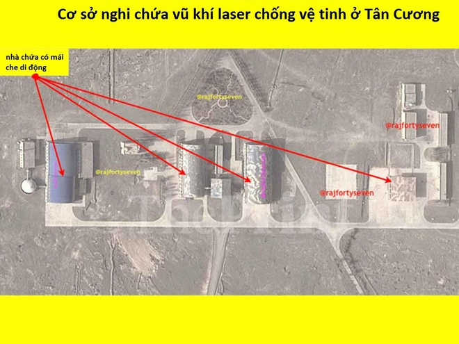 Lo dien co so laser chong ve tinh cua Trung Quoc o Tan Cuong hinh anh 1