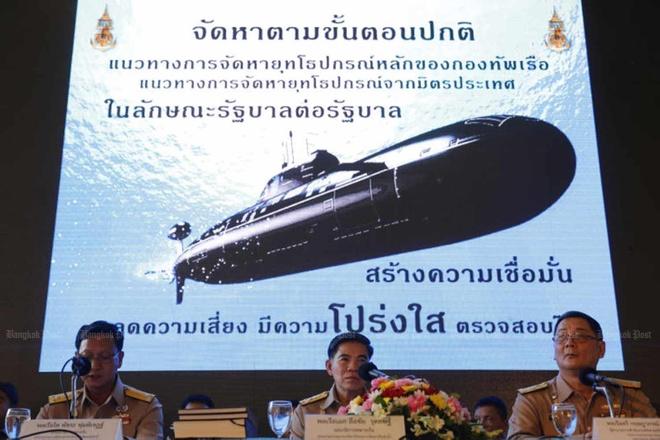 Thai Lan mua tau ngam Trung Quoc anh 1