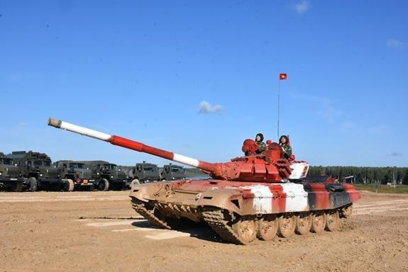 Đội xe tăng Việt Nam đã chuẩn bị chu đáo để có kết quả xuất sắc