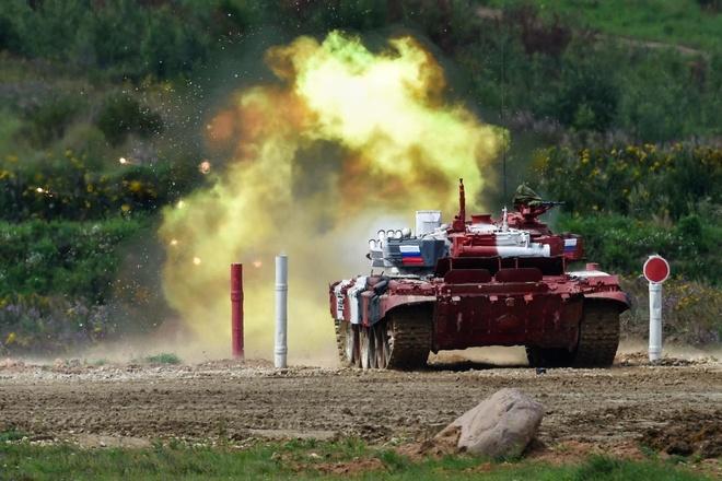 Chung kết hạng A, tuyển xe tăng Nga chứng tỏ sức mạnh không đối thủ