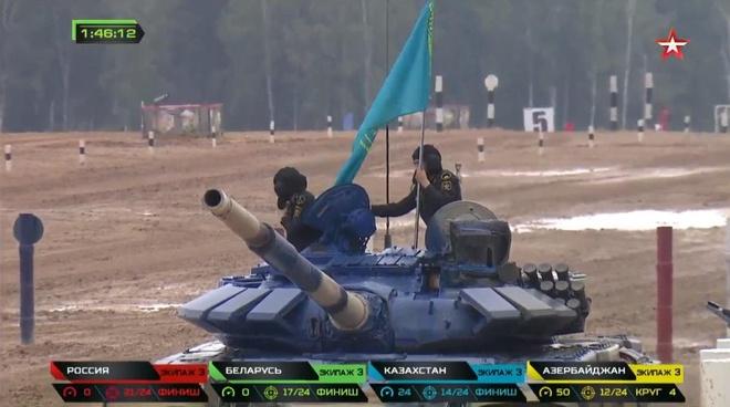 Vuot troi cac doi thu, doi Nga gianh chuc vo dich Tank Biathlon hinh anh 31