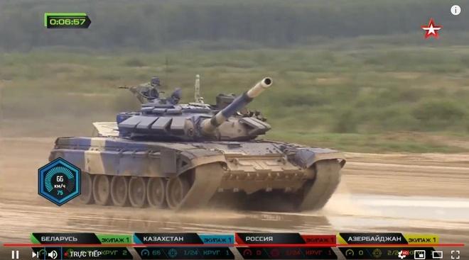 Vuot troi cac doi thu, doi Nga gianh chuc vo dich Tank Biathlon hinh anh 7