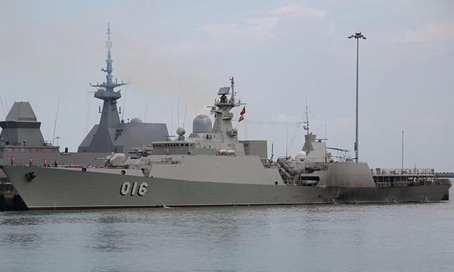 Chiến hạm Quang Trung - tàu hộ vệ tên lửa uy lực nhất của Việt Nam