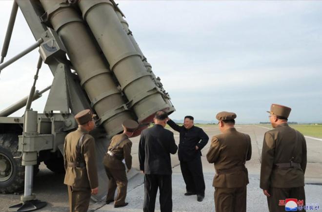 Rocket phong loat sieu lon cua Trieu Tien co gi dac biet hinh anh 6