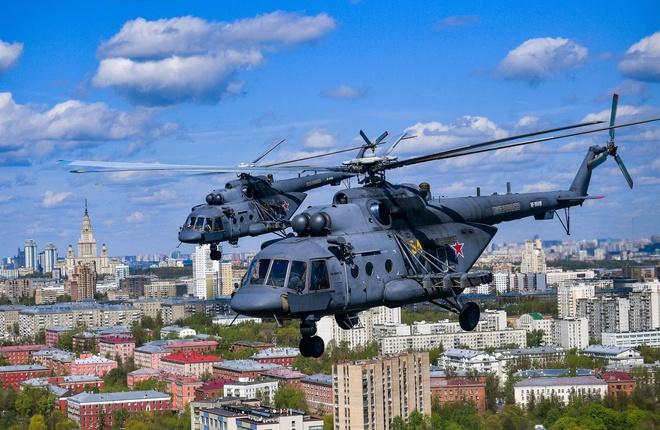 Gay banh dap, truc thang Mi-8 roi o Nga hinh anh 1