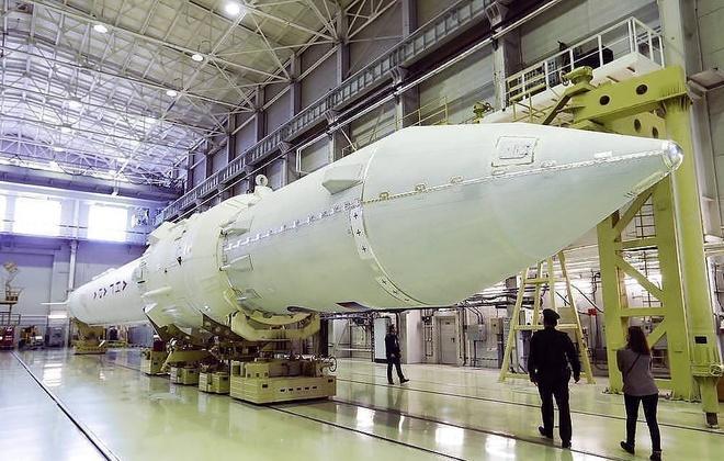 Nga nghiên cứu siêu tên lửa đẩy Angara mới