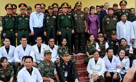 Hop tac quoc phong Viet Nam-Campuchia anh 5