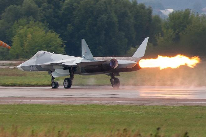 Tiem kich tang hinh Su-57 anh 1