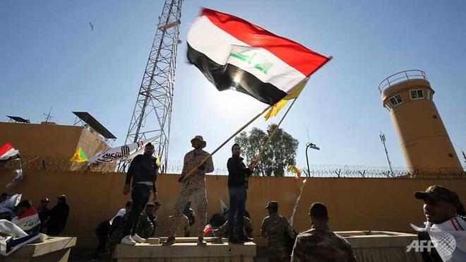 3 rocket ban trung Dai su quan My o Iraq hinh anh 1 green_zone_in_baghdad.jpg