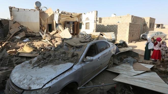 Bi ban roi chien dau co, Saudi tra dua khien 31 dan Yemen thiet mang hinh anh 1 z_yemen_1.jpeg