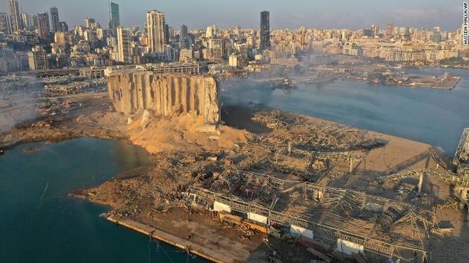 Vu no kinh hoang o Beirut anh 1