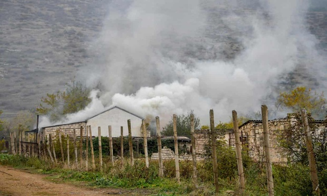 Xung dot Armenia - Azerbaijan anh 1