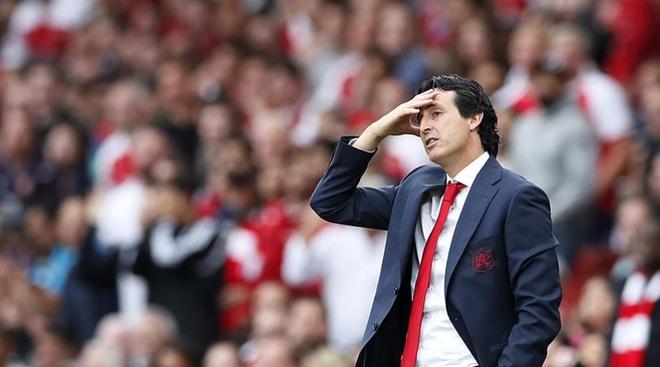 HLV Unai Emery meo mat vi Arsenal lai ha tien hinh anh 1