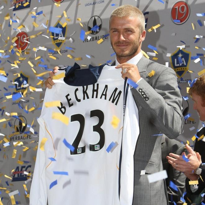 David Beckham duoc dung tuong o My hinh anh 1