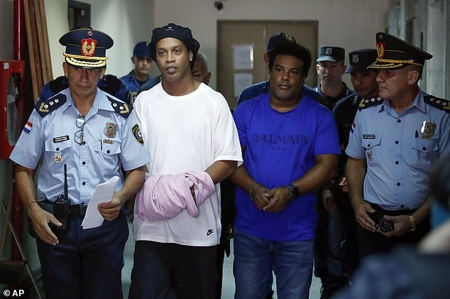 Ronaldinho Brazil anh 1