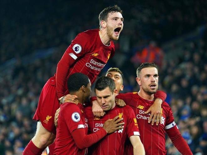 Liverpool Man City Premier League anh 1