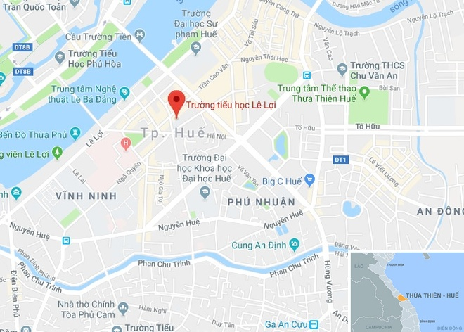 Co giao phat hoc sinh lop 1 ngam but phai xin loi phu huynh hinh anh 2