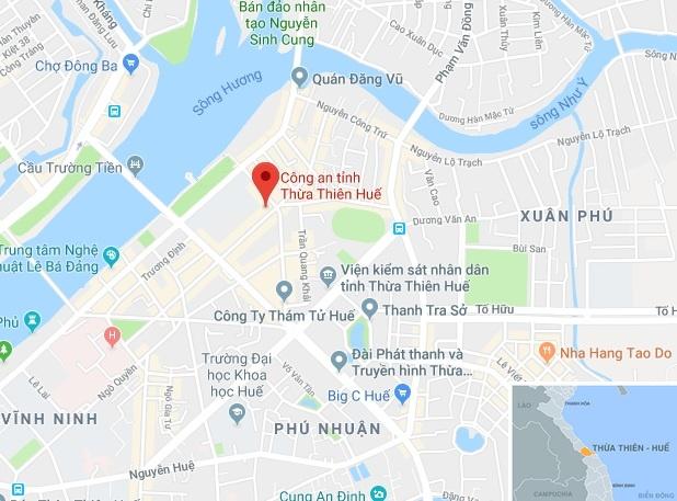 Pho tu lenh Canh sat co dong lam giam doc cong an Thua Thien - Hue hinh anh 2
