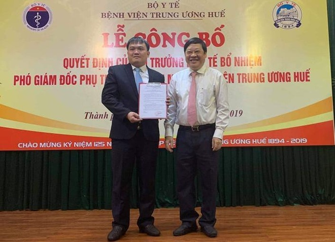 Benh vien Trung uong Hue co tan pho giam doc hinh anh 1