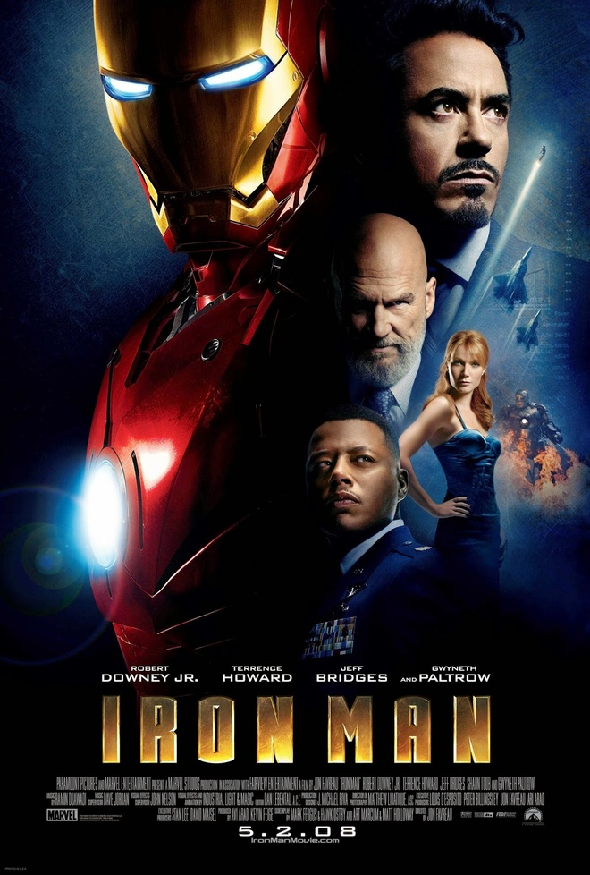 Marvel tung anh hau truong Iron Man anh 3