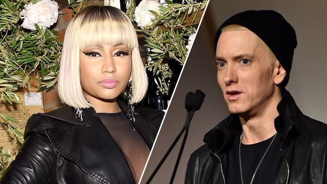 Nicki Minaj bat ngo xac nhan hen ho rapper huyen thoai Eminem hinh anh