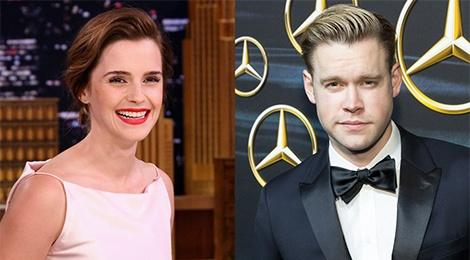 Emma Watson chia tay dien vien 'Glee' sau 6 thang hen ho hinh anh