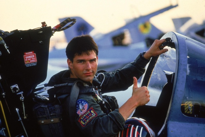 Tom Cruise he lo hinh anh dau tien cua bom tan 'Top Gun 2' hinh anh 2