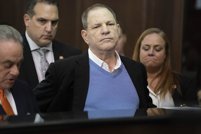 Harvey Weinstein phu nhan toi cuong hiep va lam dung tinh duc tai toa hinh anh